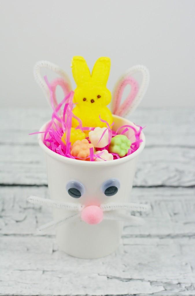 Bunny Treat Cup Craft