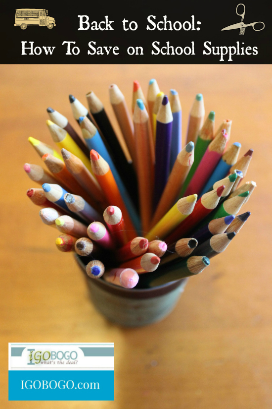 Get the Best Bang for Your Buck on School Supplies