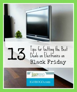 13 Tips for Getting the Best Deals on Electronics on Black Friday