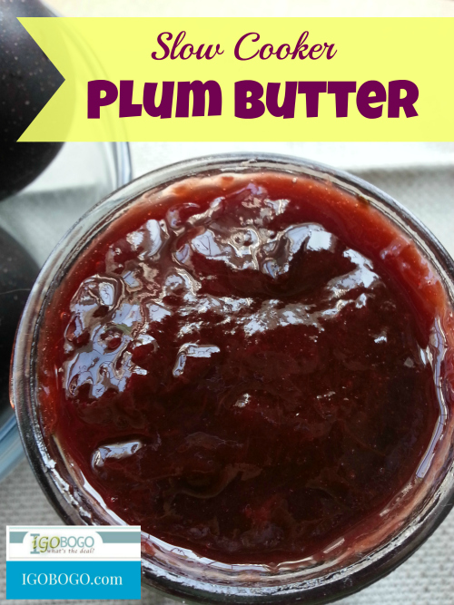 Slow Cooker Plum Pudding