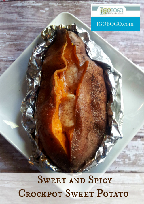 Sweet and Spicy Crock Pot Sweet Potato