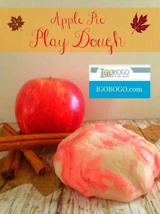 DIY Apple Pie Play Dough