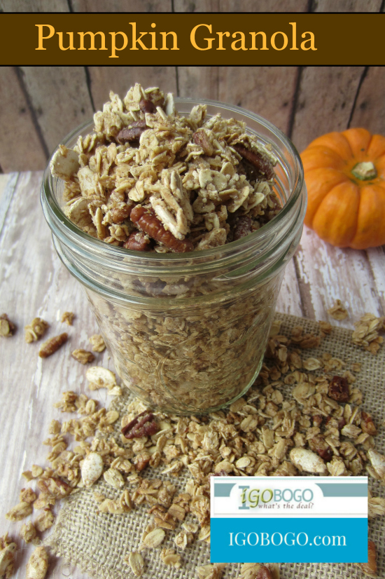 Pumpkin Granola Recipe