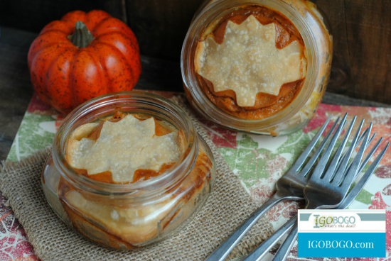 Pumpkin Pie in a Jar