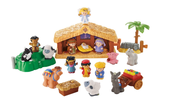 Little People Nativity Set only $22.49
