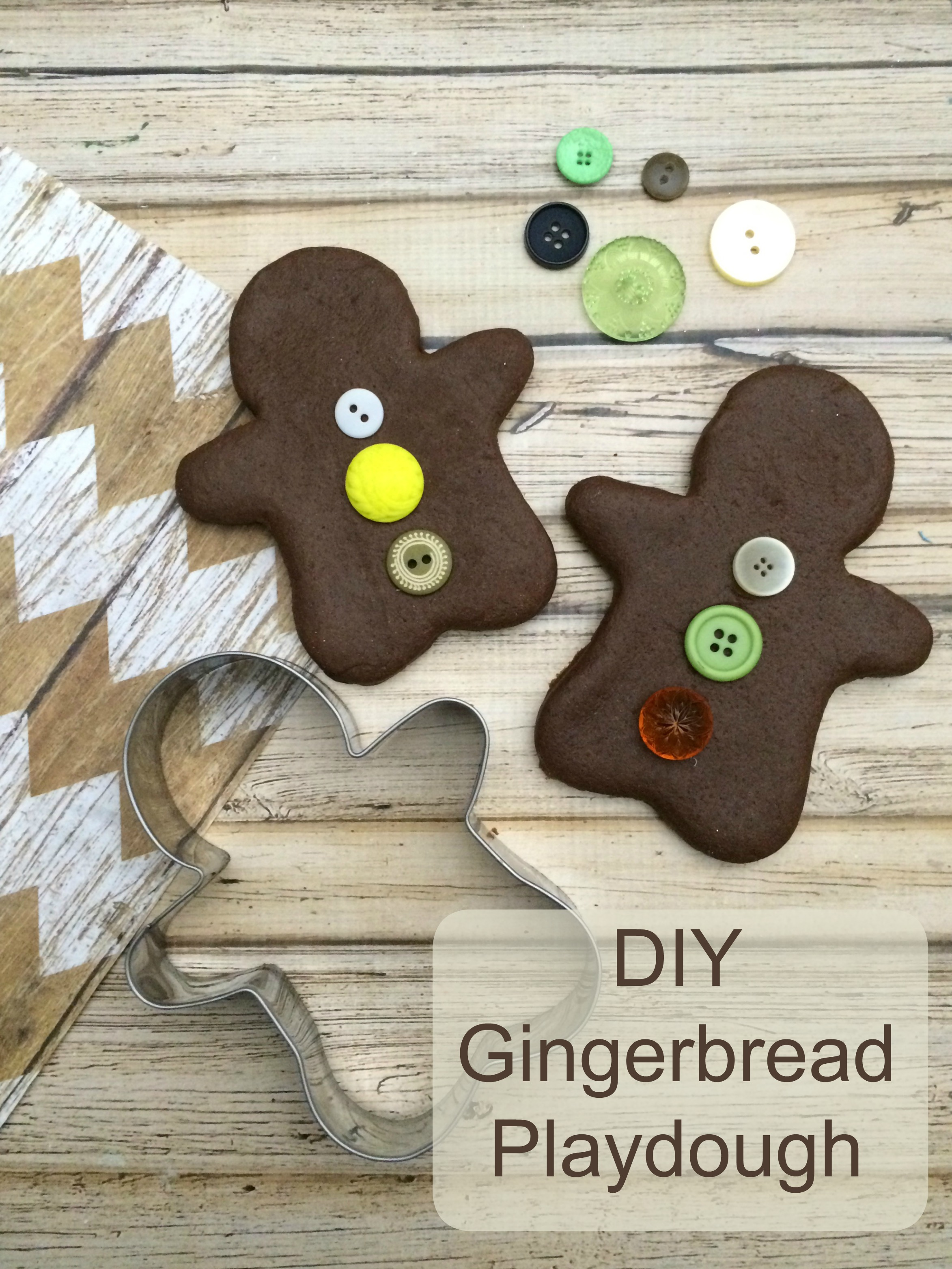 DIY Gingerbread Man Playdough + $500 Giveaway