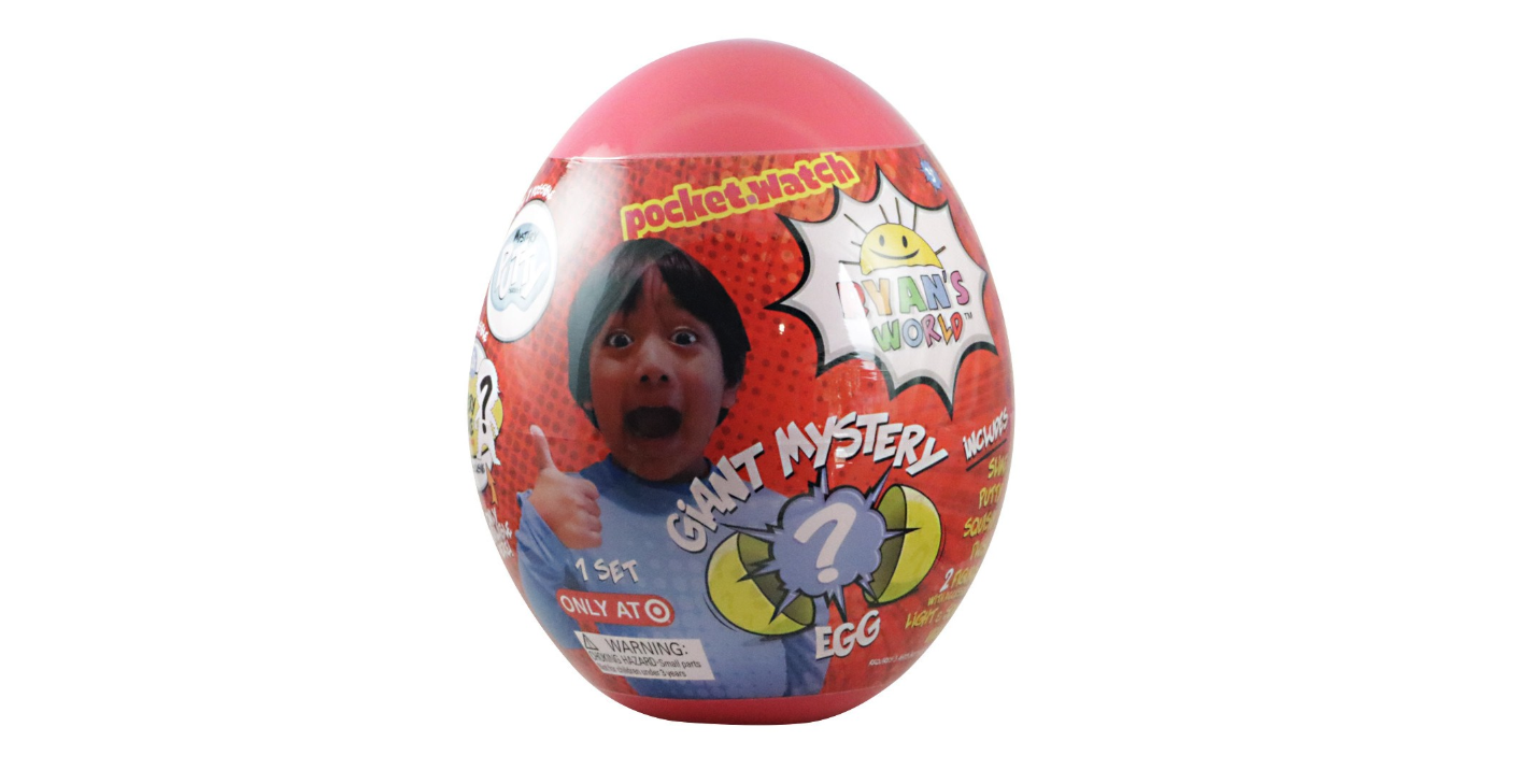 Ryan's World Giant Egg Surprise In Stock Now!