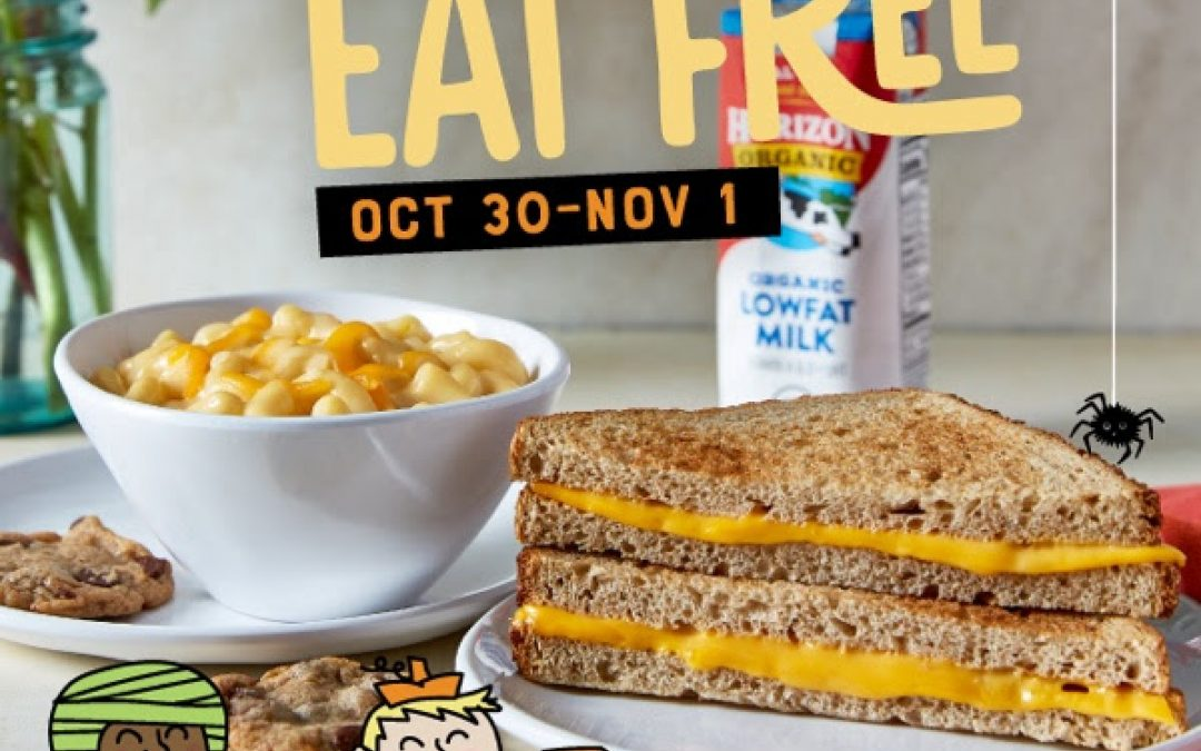 McCalister's Kids Eat Free with Costume