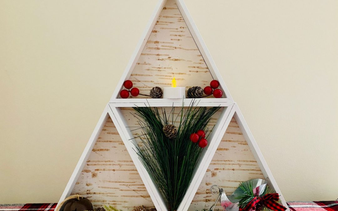 Dollar Tree Farmhouse Triangle Wooden Shelf + $500 PayPal Giveaway