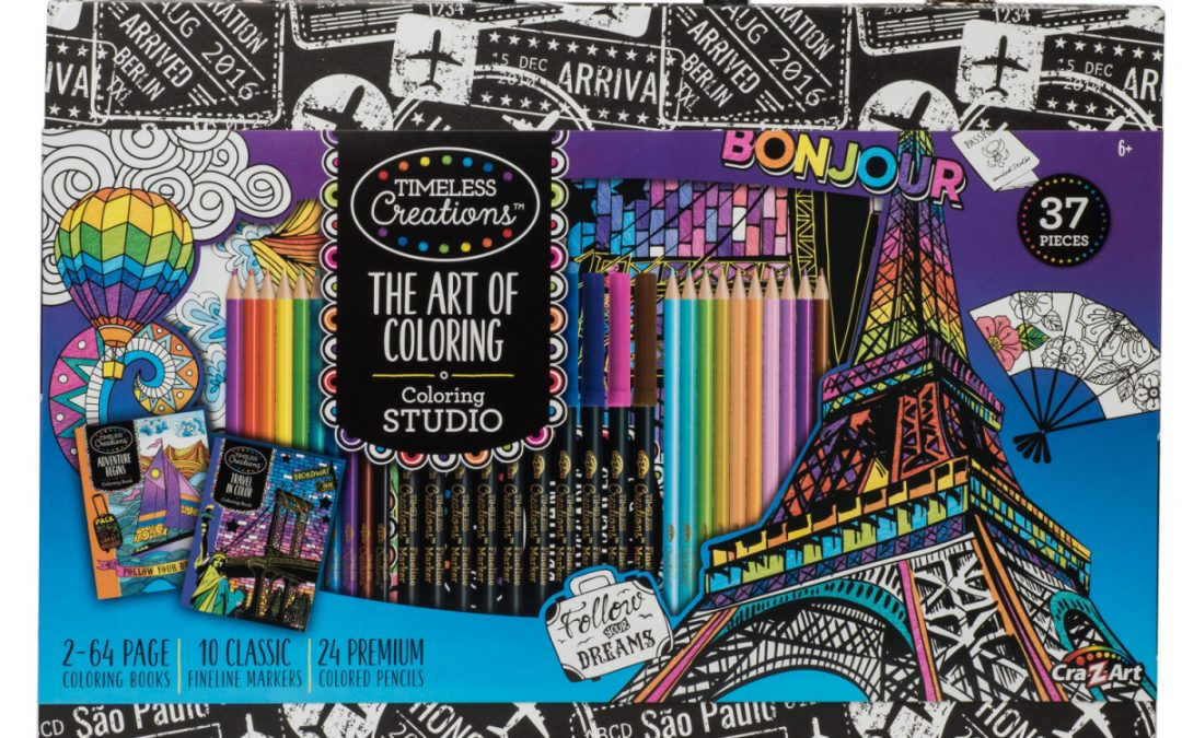 37 Piece Art Set only $12 at Walmart (regularly $32)!