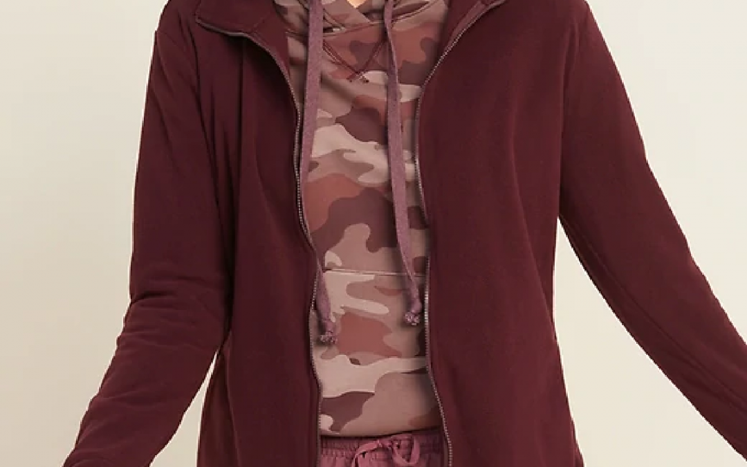 Microfleece only $8 at Old Navy