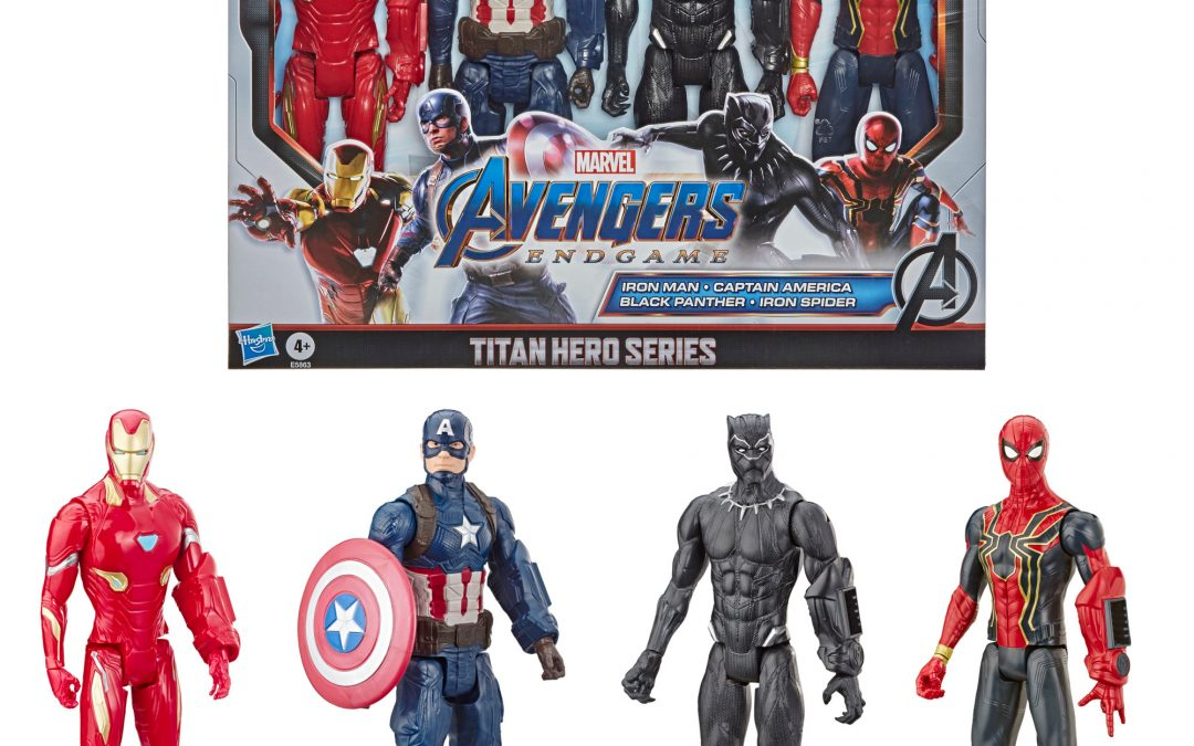 Marvel Avengers Action Figures – 4 Pack Only $20